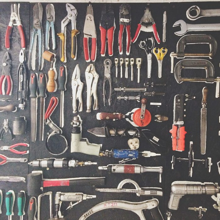 Equipment In Toolbox