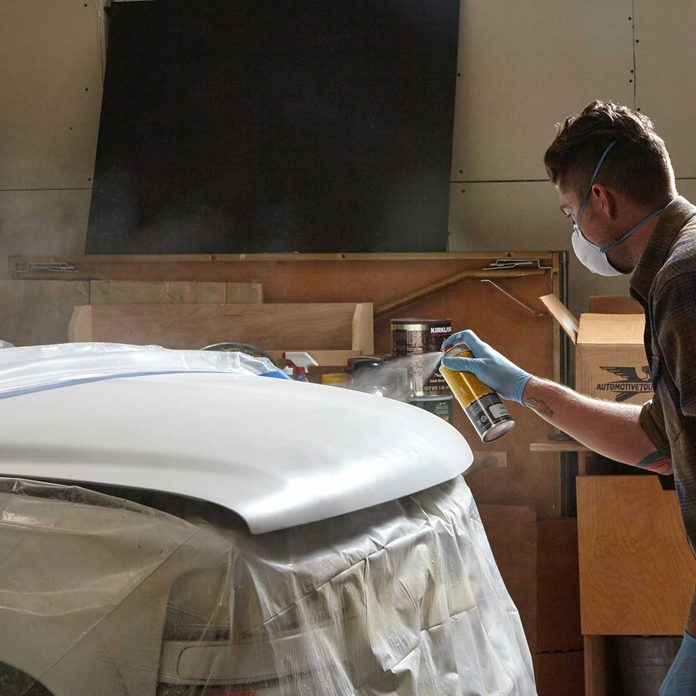 Apply the Colored Base Coat Car Repair 7
