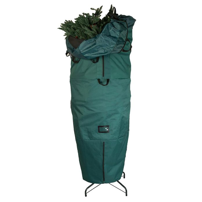 Upright Christmas tree storage bag