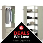 Deals We Love: Closet Organizers