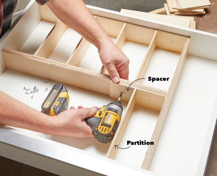 Building drawer dividers Fh21mar 608 51 011