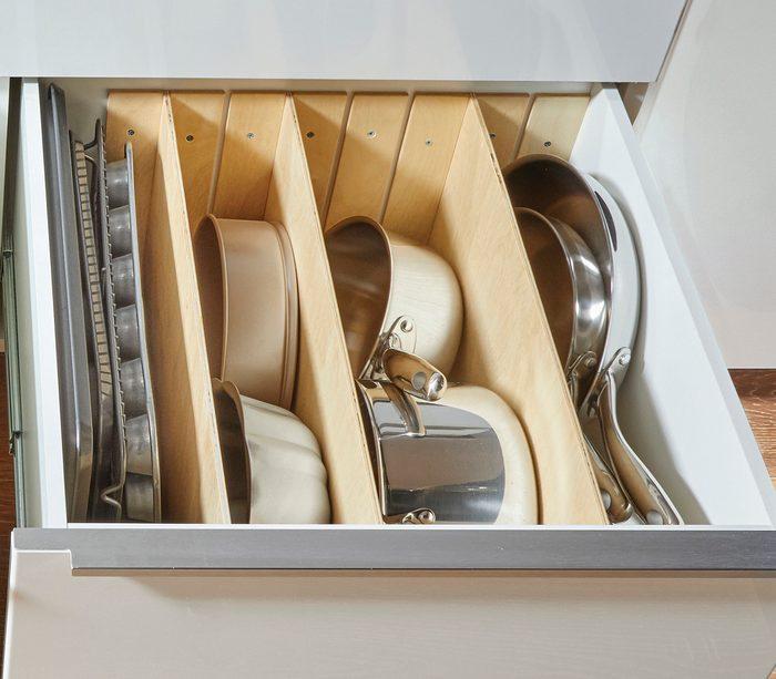 Pot and pan divider Fh21mar 608 51 107 Adjustabledivider
