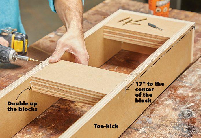 Build Toe-Kicks Fh21mar 608 52 017