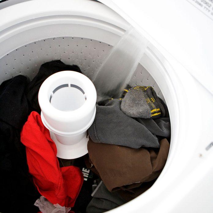 Washing machine filling