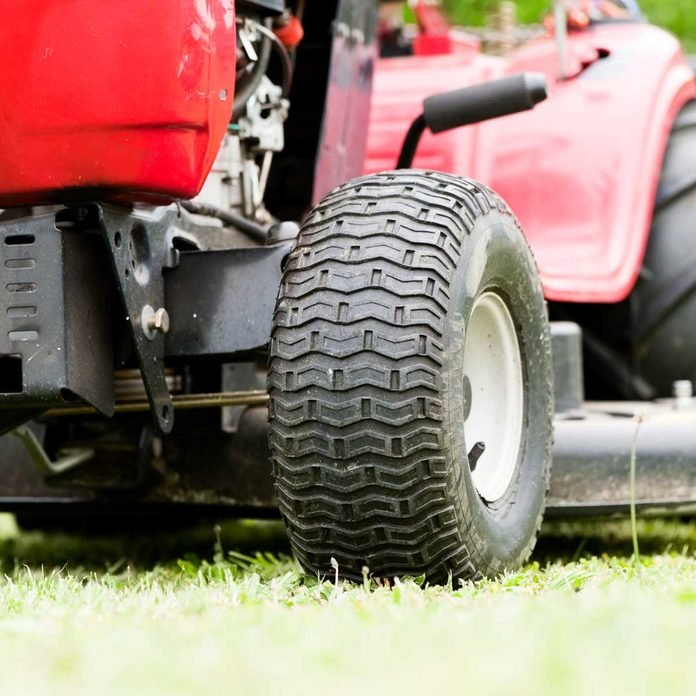 Lawn Tractor Tire Gettyimages 495745801