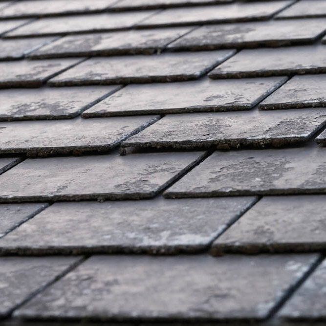 Black Shingles Roof Tile