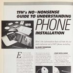 Vintage Family Handyman Feature from 1987: Landline Phone Installation