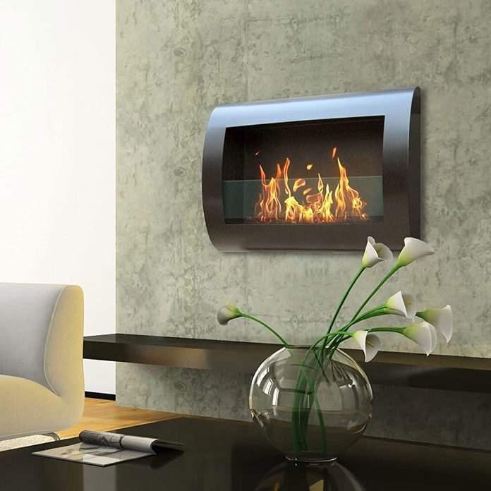 Ethanol Fireplace 81v504oln L. Ac Sl1500