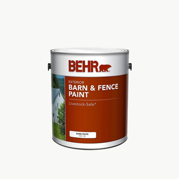 Fence Paint White Behr