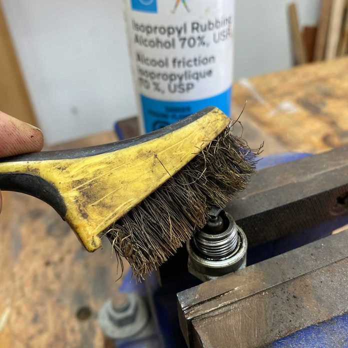 Spark Plug Cleaning