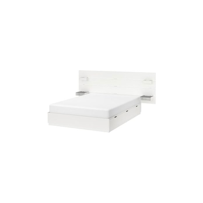 Storage Bed Nordli Bed With Headboard And Storage White 0749134 Pe745503 S5.jpg