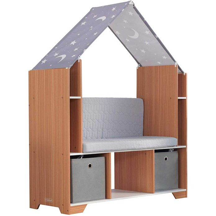 kids storage nook