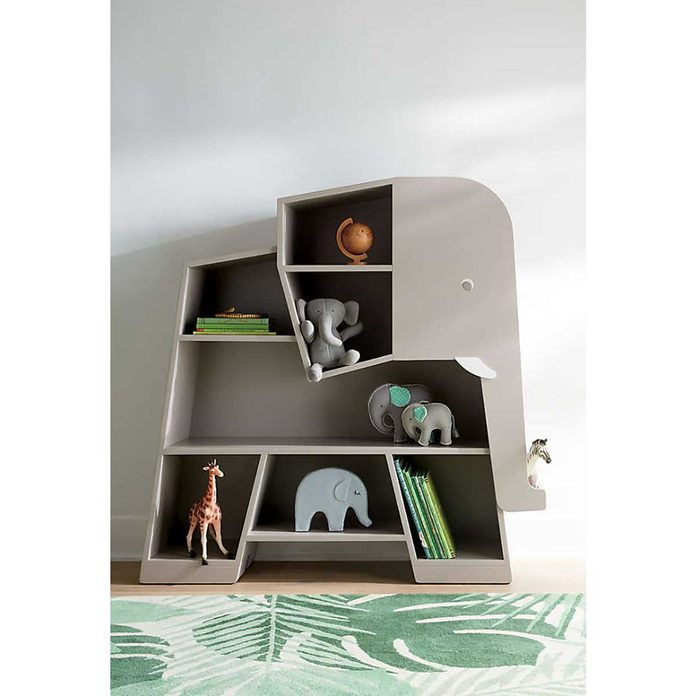 elephant book case