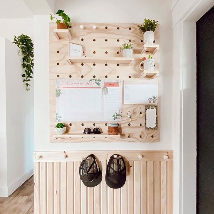 Entry Pegboard