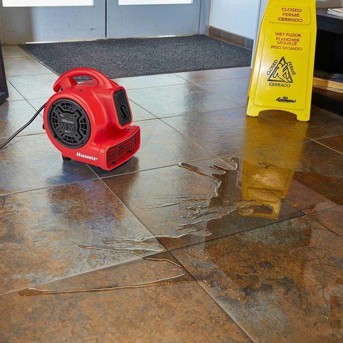 floor blower