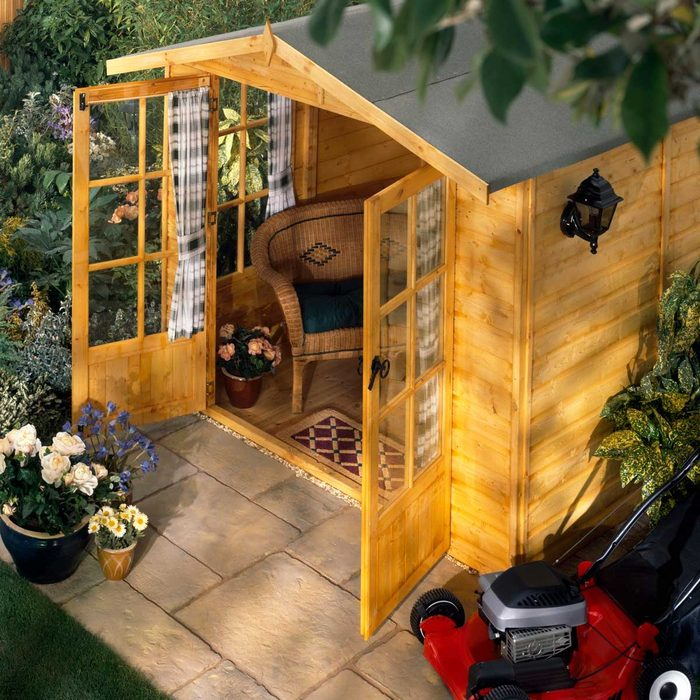 Luxury Shed