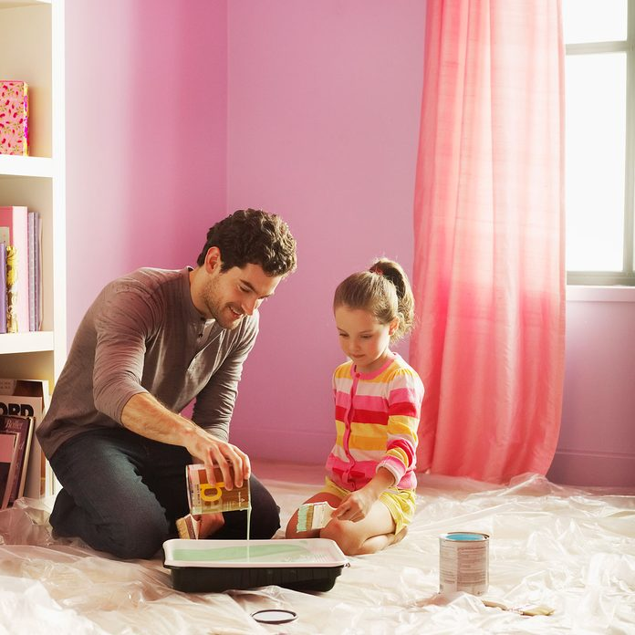 Painting a Kids Room