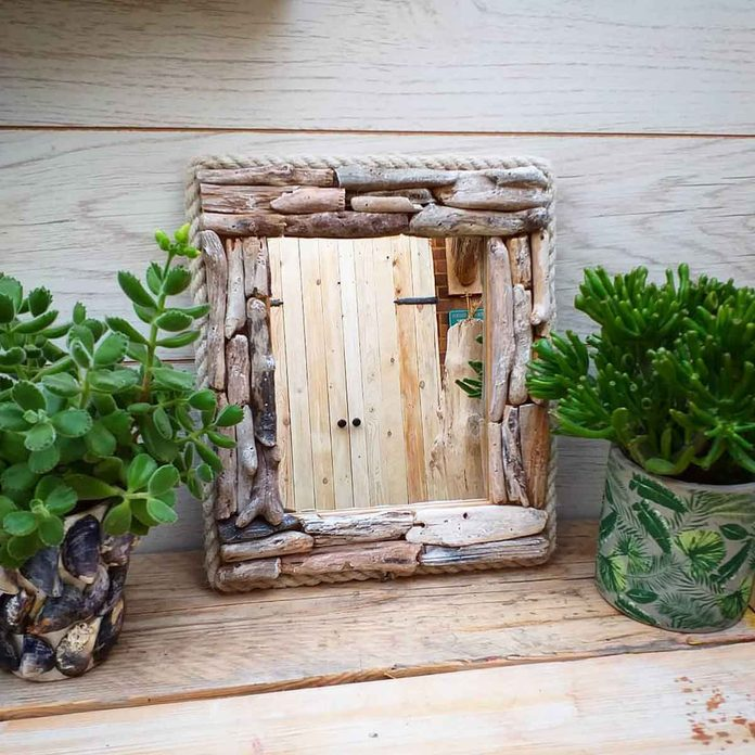 hand made mirror frame