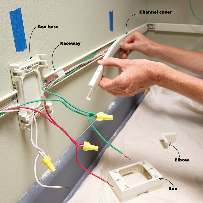 Hide Wires With Raceway