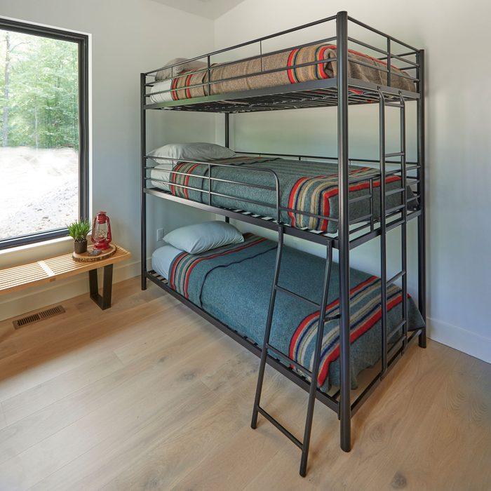 Family Handyman Getaway Avenue Greene Quinton Metal Triple Bunk Bed