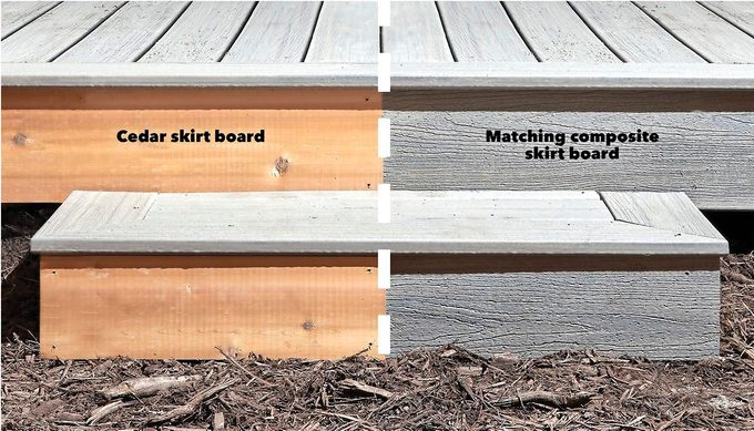 Matching Skirt Boards