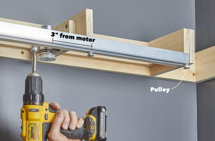Place the Pulleys