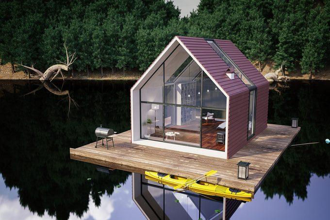 Modern Lake House Design