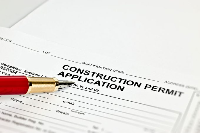 Building Permit Application