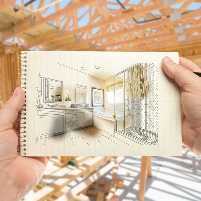 House Building Plan Gettyimages 944867932