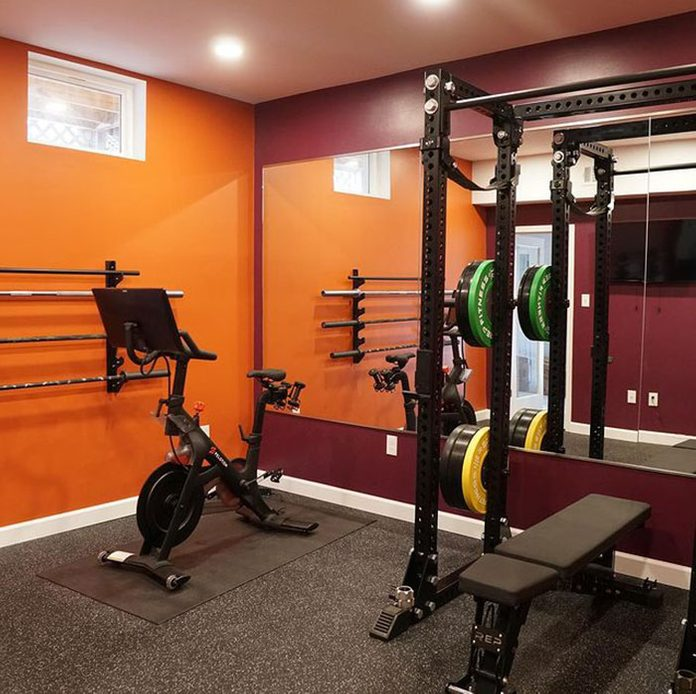 Red Home Gym
