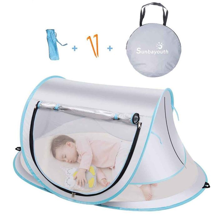 portable baby tent