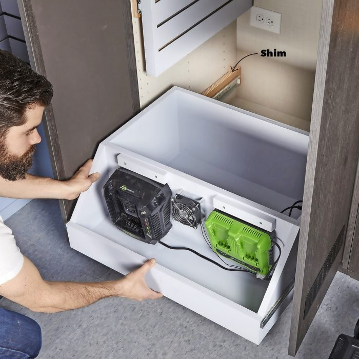 Install the Panels and Drawer