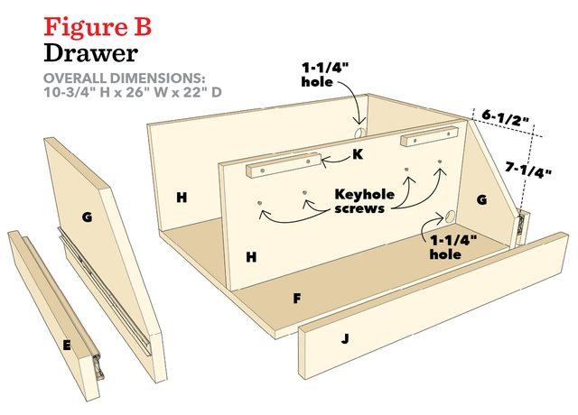 Figure B- Drawer