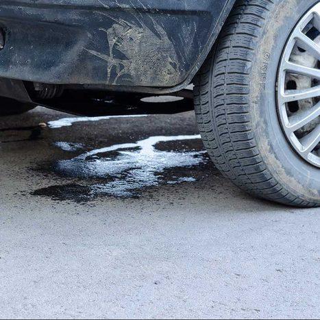 Car Leaking