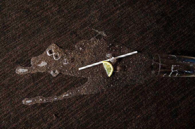 Drink Spilled On Carpet