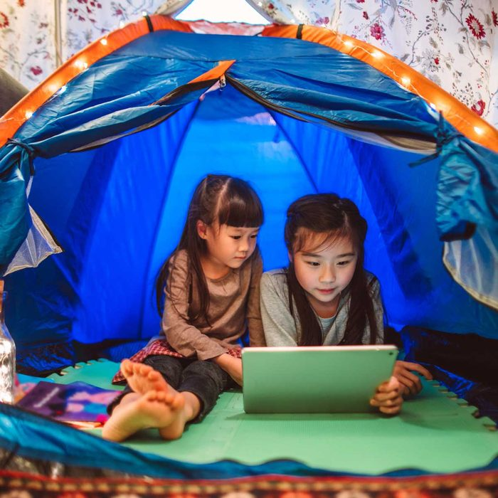 Kids in a Tent