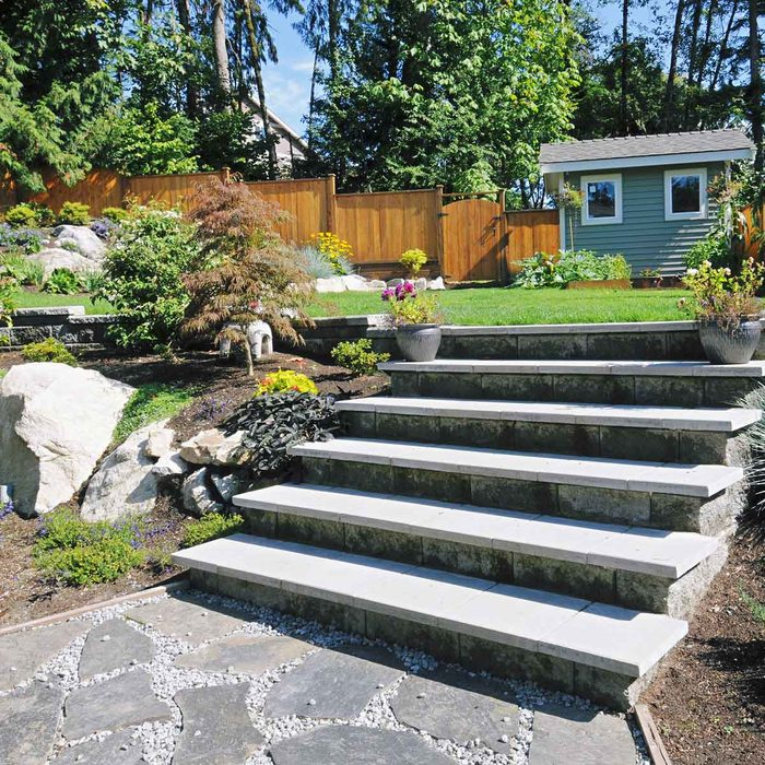 Yard Steps
