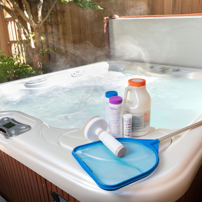Hot Tub Cleaning Supplies
