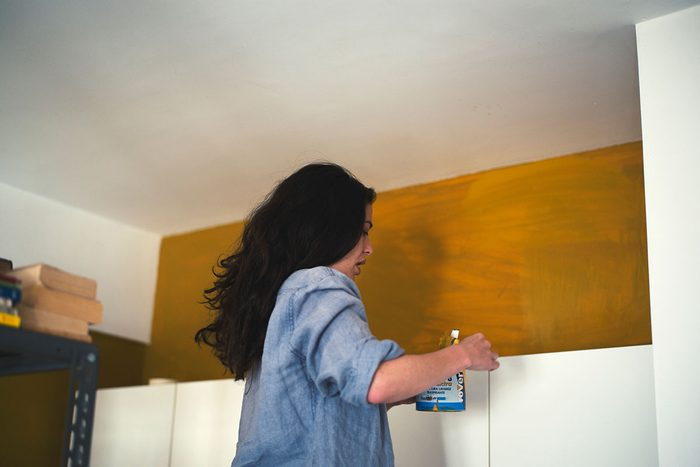 Painting A Kitchen Wall