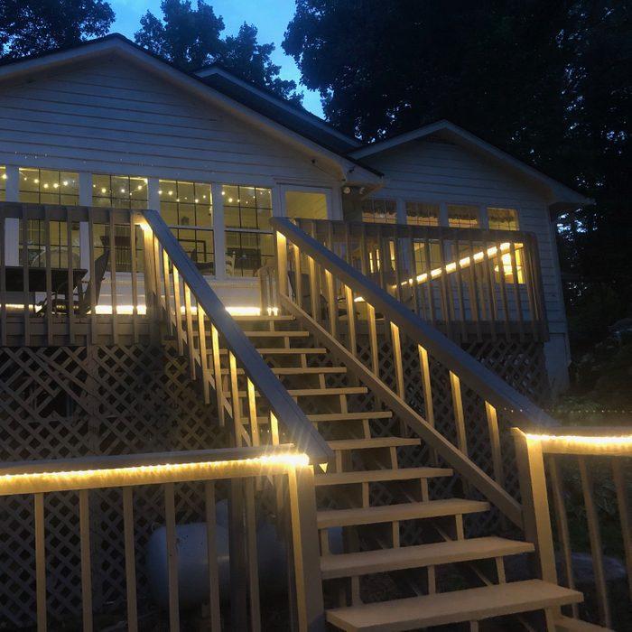 Deck rope lights