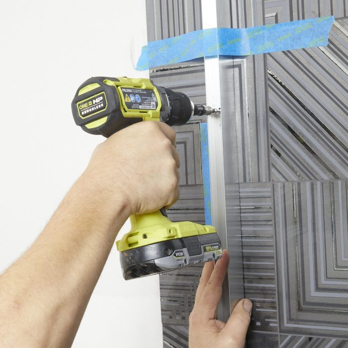 Installing a shower panel