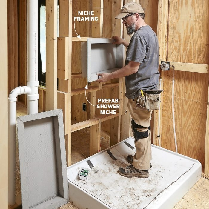 Install the niches