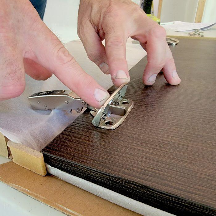Rta Door Hinge Install
