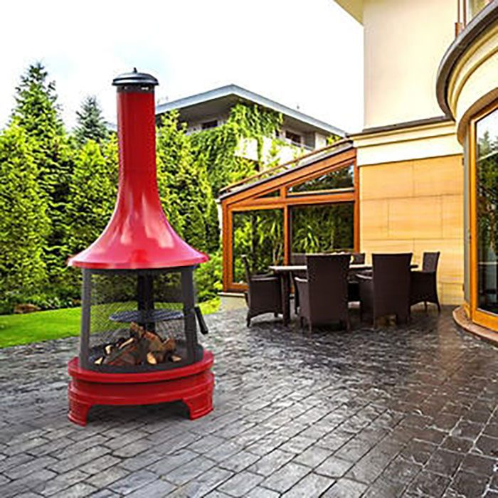 Outdoor Fireplace Imageservice