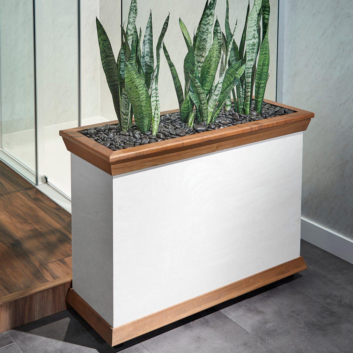 Indoor planter stand