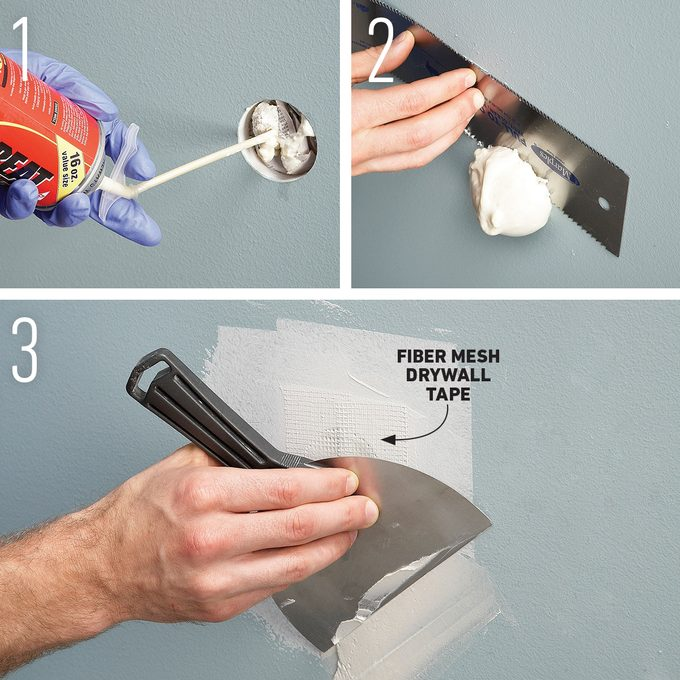 Easy Drywall Patch for Big Holes