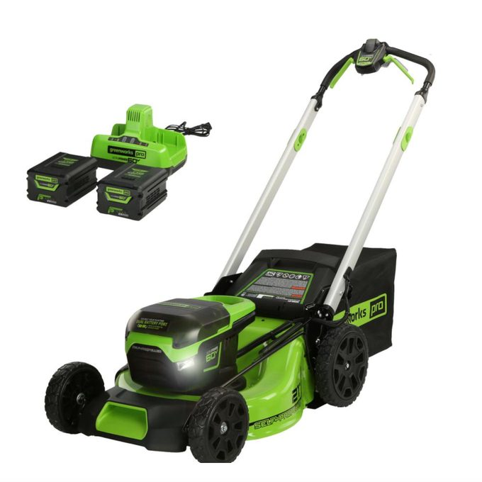 PRO Cordless Self-Propelled Lawn Mower