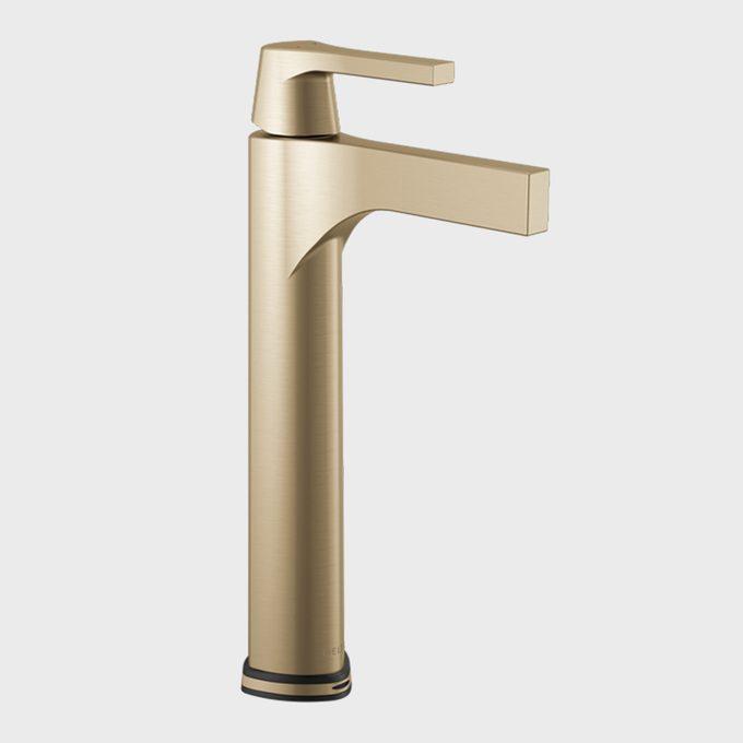 Delta Zura Single Hole Single Handle Vessel Bathroom Faucet