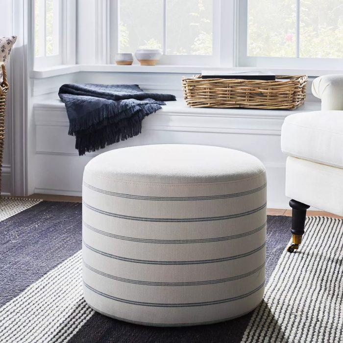 Upholstered Round Stool
