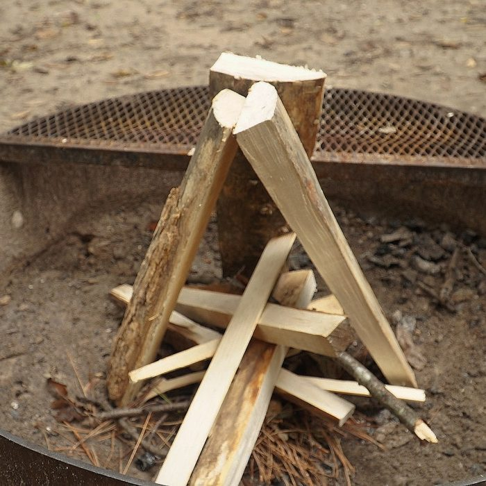 Campfire Tepee